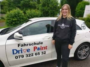 Fahrschülerin Fahrschule Drive Point in Möhlin